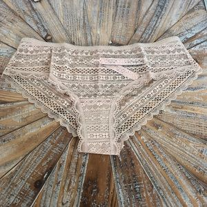 Victoria's Secret Intimates & Sleepwear - NWT Victoria's Secret Lace Cheeky Panty Sz S or M